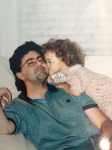 Unable to take a current picture with my dad. Found one as a kid